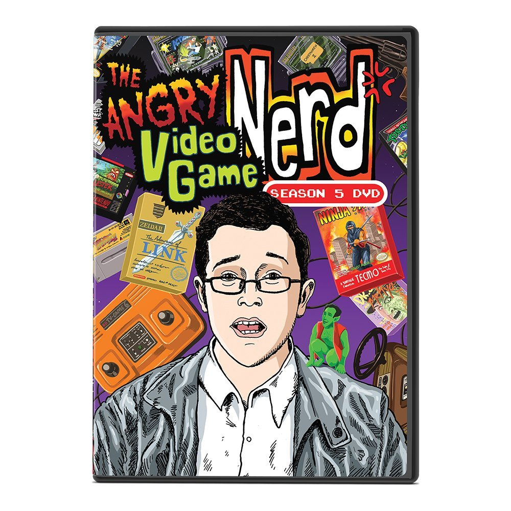 Amazon.com: Angry Video Game Nerd Season 1: James Rolfe ...